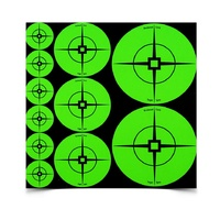 "Birchwood Casey Assorted Target Spots Atomic Green 60x1"" 30x2"" 20x3"" 33938"