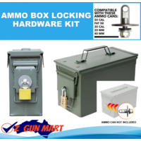 Infantryman Ammo Box Can Locking Hardware Kit - .50 Cal, Fat 50, 30 Cal, 20 mm, 40 mm Ammunition Cans
