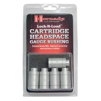 Hornady Lock-N-Load Headspace Gage 5 Bushing Kit without Body HK55