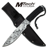 M-Tech USA Fixed Blade Knife Tactical & Military - MT-611GY