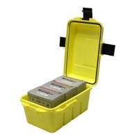 Max-Guard Waterproof 12 Gauge Ammo Box Range Case 75rnd Shotgun Shotshell Utility Case - PT-EDB