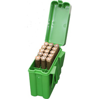 MTM Rifle Ammo Boxes - 20 Round Belt Clip Carrier 270 Winchester 30-06 25-06 RL-20-10