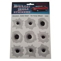 Metal Bullet Hole Sticker Sheet S-BHM