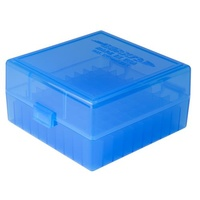 Berry's Rifle Ammo Box 100rd Flip-Top 223/5.56 - Blue - SBE005