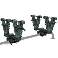 ATV-Tek V-Grip™ Quad Bike Gun, Bow & Utility Rack Mount - Double - VFG2