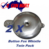 Button Fox Whistle W111 Twin Pack