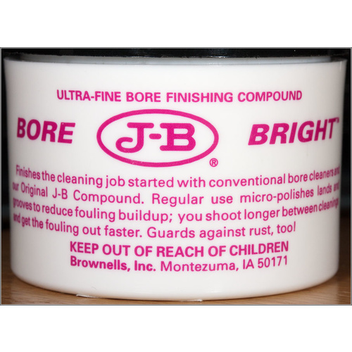 Brownells JB Bore Brite Finishing Cleaning Compound