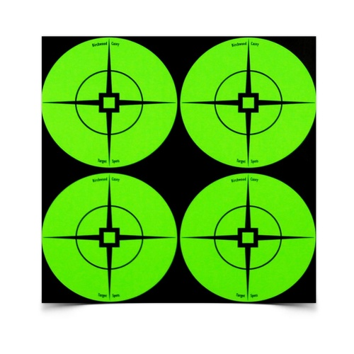 "Birchwood Casey Self Adhesive 3"" Target Spots Atomic Green 40 Pack 33933"